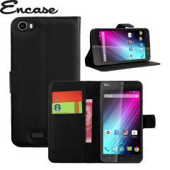 Encase Wiko Lenny Wallet Case - Black