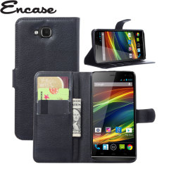 Encase Wiko Slide Wallet Case - Black