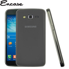 Encase FlexiShield Samsung Galaxy Grand 2 Case - Smoke Black