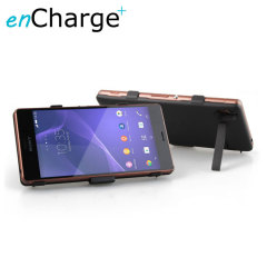 enCharge Power Jacket Sony Xperia Z3 Battery Case 3200mAh - Black
