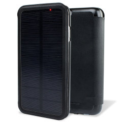 enCharge Solar iPhone 6 Battery Flip Case 2,800mAh - Black