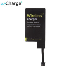 enCharge Universal Qi Wireless Charging Adapter - Micro USB (Inverted)