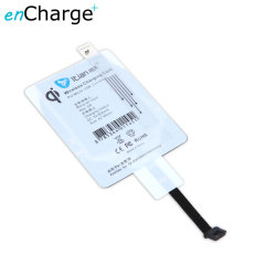 enCharge Universal Qi Wireless Charging Adapter - Micro USB Port A