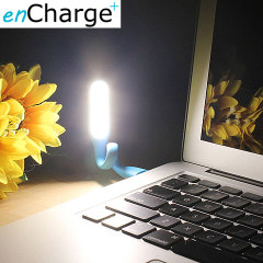 enCharge USB Portable LED Light - Blue