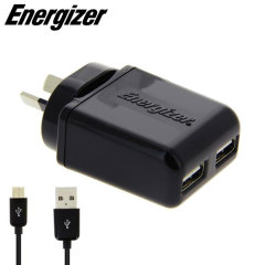 Energizer Dual USB Australian Wall Charger