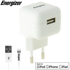 Energizer High Power 2.1A Lightning USB EU Wall Charger