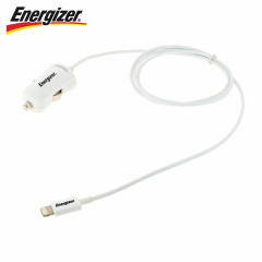 Energizer HighTech Apple Lightning Cable Car Charger - 1 Amp