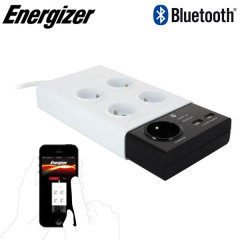 Energizer Wireless Controlled French Power Outlet Bar with 2 USB ports