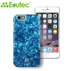 Evutec Apple iPhone 6S / 6 Kaleidoscope Pattern SC Series Case - Blue