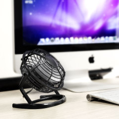 Executive Metal USB Mini Desk Fan