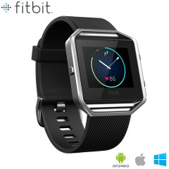 Fitbit Blaze Fitness Smartwatch - Large - Black