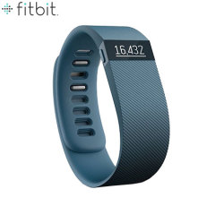 Fitbit Charge Wireless Fitness Tracking Wristband - Slate - Large