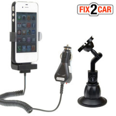 Fix2Car Active Holder with Suction Mount for iPhone 4 / 4S