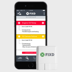 FIXD Bluetooth In Car Diagnostics Sensor