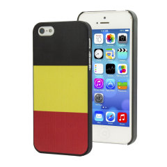 Flag Design iPhone 5S / 5 Case - Belgium