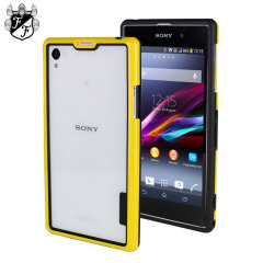 Flexiframe Sony Xperia Z1 Bumper Case - Yellow