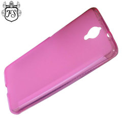 Flexishield Alcatel OneTouch Idol X+ Case - Pink