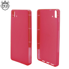 Flexishield BQ Aquaris E5 Case - Red
