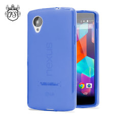 FlexiShield Case for Google Nexus 5 - Dark Blue