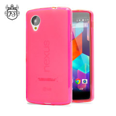 FlexiShield Case for Google Nexus 5 - Hot Pink