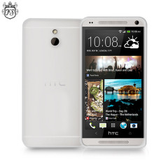 FlexiShield Case for HTC One Mini - Frost White