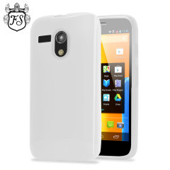 Flexishield Case for Moto G - Frost White
