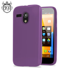 Flexishield Case for Moto G - Purple