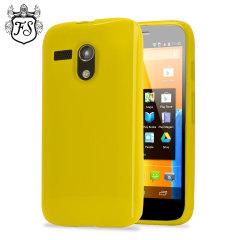 Flexishield Case for Moto G - Yellow