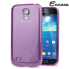 FlexiShield Case for Samsung Galaxy S4 Mini - Purple