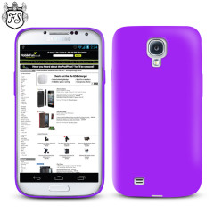 FlexiShield Case for Samsung Galaxy S4 - Purple