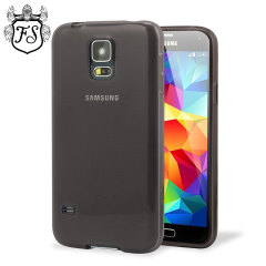 FlexiShield Case for Samsung Galaxy S5 - Smoke Black