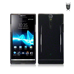 Flexishield Case for Sony Xperia U - Black