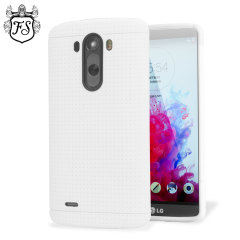 FlexiShield Dot LG G3 Case - White
