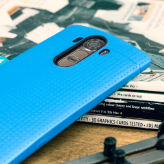 FlexiShield Dot LG G4 Case - Blue