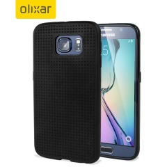 FlexiShield Dot Samsung Galaxy S6 Case - Black