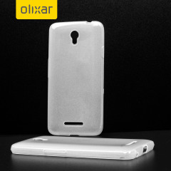 FlexiShield EE Harrier Mini Gel Case - Frost White