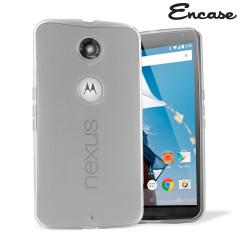 Encase FlexiShield Google Nexus 6 Case - Frost White