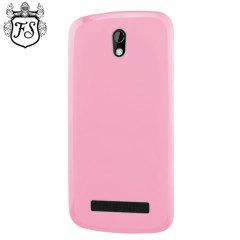 Flexishield HTC Desire 500 Case - Pink