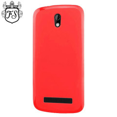 Flexishield HTC Desire 500 Case - Red