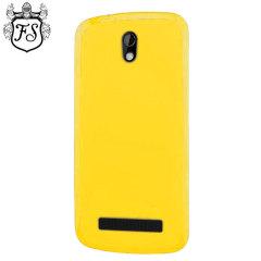 Flexishield HTC Desire 500 Case - Yellow