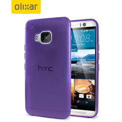 FlexiShield HTC One M9 Case - Purple