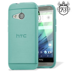 FlexiShield HTC One Mini 2 Gel Case - Light Blue