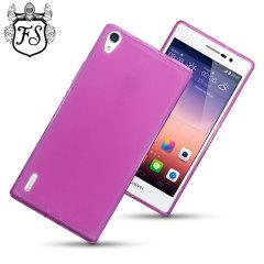 Flexishield Huawei Ascend P7 Case - Purple