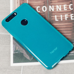 FlexiShield Huawei Honor 8 Gel Case - Blue