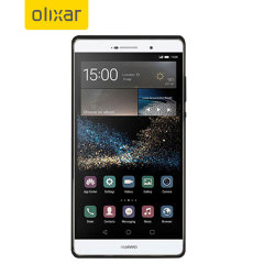 FlexiShield Huawei P8 Max Case - Smoke Black