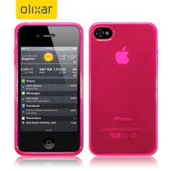 FlexiShield iPhone 4S / 4 Gel Case - Hot Pink