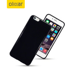 FlexiShield iPhone 6S / 6 Case - Solid Black