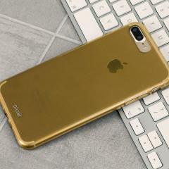 FlexiShield iPhone 7 Plus Gel Case - Gold