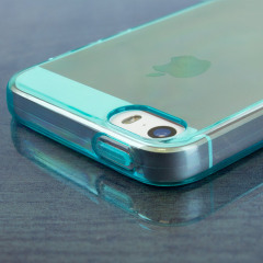 FlexiShield iPhone SE Gel Case - Blue