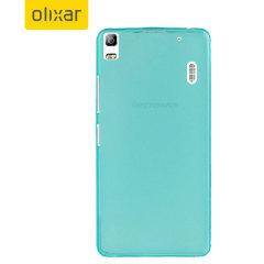 FlexiShield Lenovo A7000 Gel Case - Blue